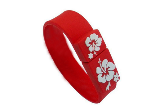 Hot Selling Good Quality USB Flash Drive / Bracelet USB / Logo Customized OEM