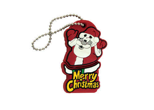 Christmas Gift Model PVC USB 2.0 Memory Stick Flash Pen Drive 4GB- 32GB